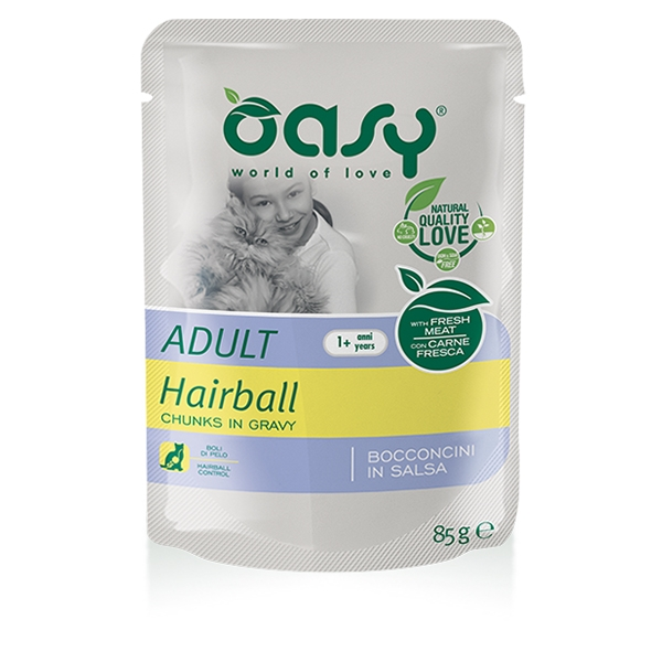 Bocconcini in Salsa Adult Hairball - Oasy