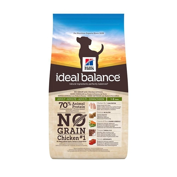 Ideal Balance Canine Adult No Grain Pollo e Patate - Hill's Pet Nutrition
