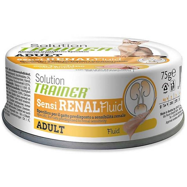 Trainer (Nova Foods) - Solution Adult Sensirenal Tacchino Fluid