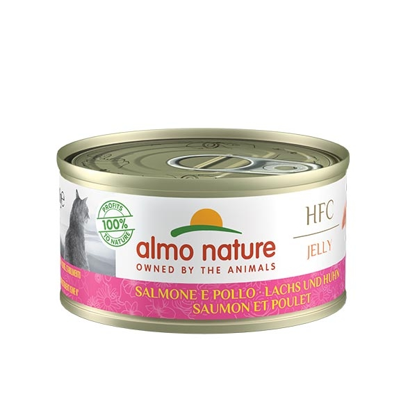 Almo Nature - HFC Jelly Salmone e Pollo