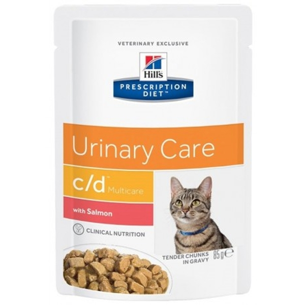 Prescription Diet c/d Urinary Care Multicare con Salmone - Hill's Pet Nutrition