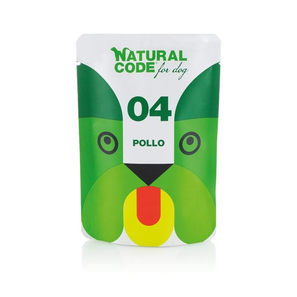 Adult Dog Pouch 04 Pollo - Natural Code