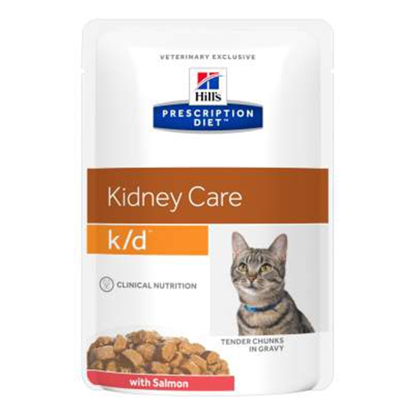 Prescription Diet k/d Kidney Care con Salmone - Hill's Pet Nutrition