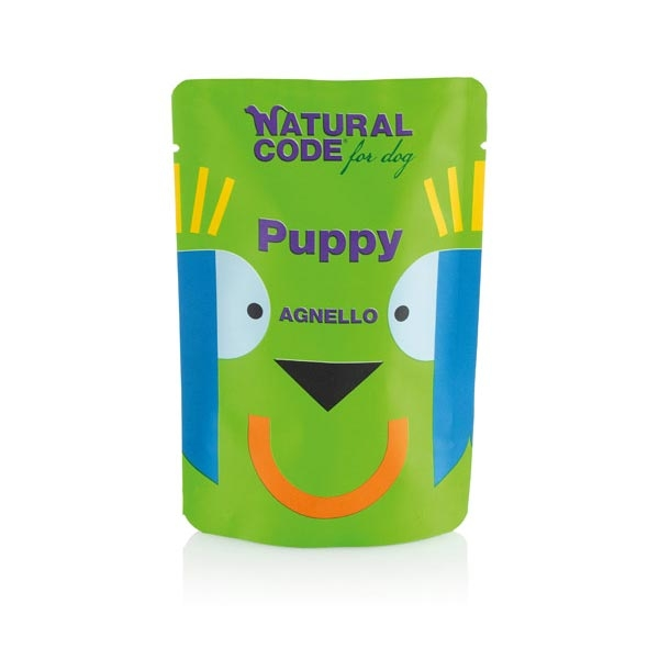 Puppy Pouch Agnello - Natural Code