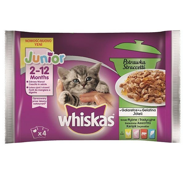 Whiskas - Junior Straccetti Assortiti