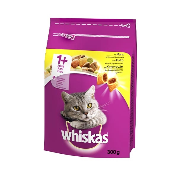 1+ Croccantini con Pollo - Whiskas
