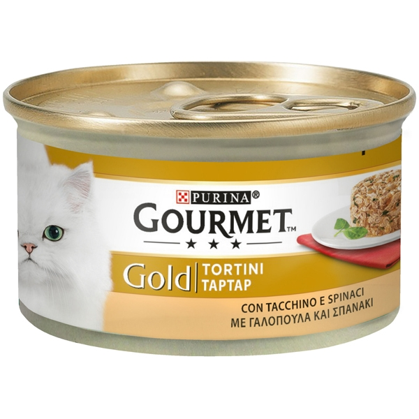 Nestle' Purina - Gold Tortini con Tacchino e Spinaci