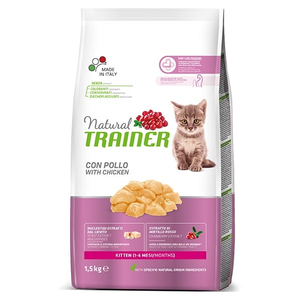 Natural Kitten con Pollo Fresco - Trainer (Nova Foods)