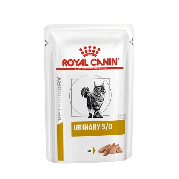 Veterinary Diet Urinary S/O con Pollo in Loaf in Sauce - Royal Canin