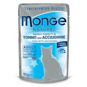 Natural Superpremium Tonno con Acciughine - Monge