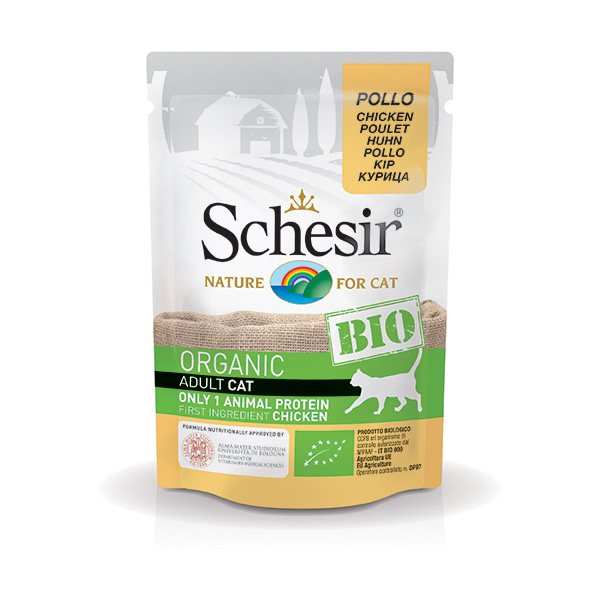 Bio Organic Adult Cat Pollo - Schesir
