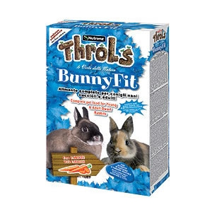 Throls Bunny Fit Fior di Carota - Raggio di Sole Mangimi