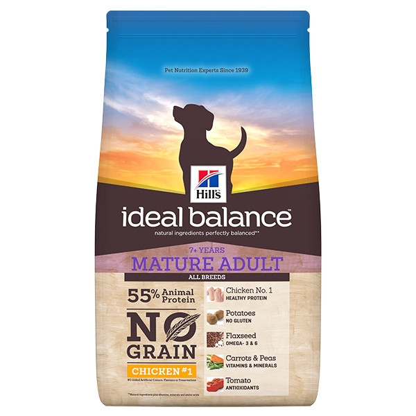 Hill's Pet Nutrition - Ideal Balance Canine Mature No Grain Pollo e Patate