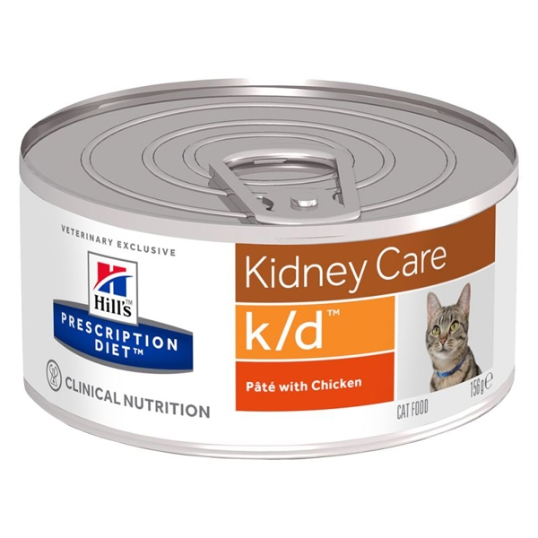 Hill's Pet Nutrition - Prescription Diet k/d Renal Health Patè con Pollo