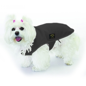 Fashion Dog - Cappotto in Pile Nero