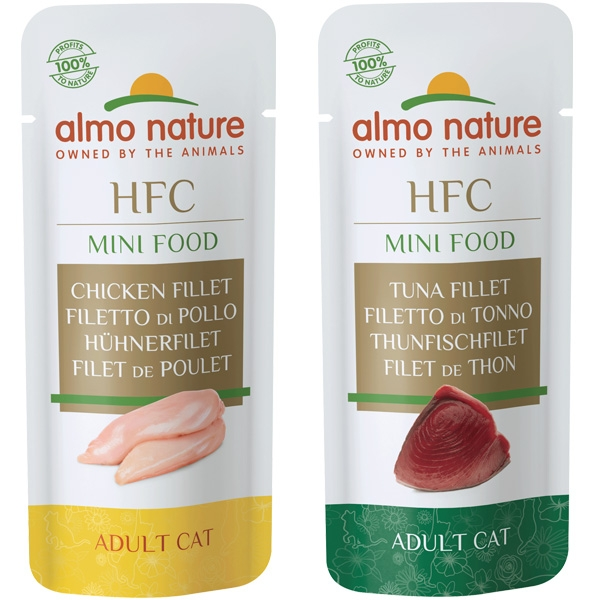 HFC Green Label Mini-Food - Almo Nature