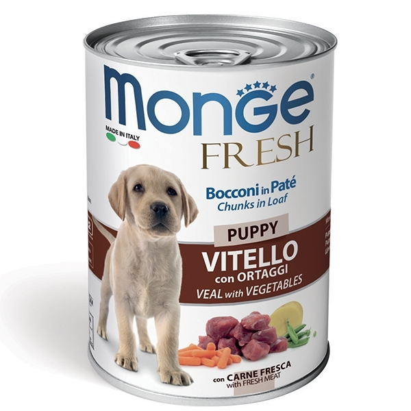 Monge - Fresh Puppy Vitello con Ortaggi