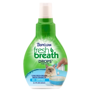 Tropiclean fresh breath drops per gatti for Fresh home login