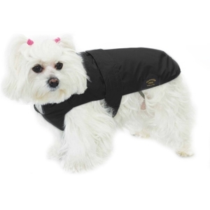 Cappotto Impermeabile con Imbottitura Staccabile Nero - Fashion Dog