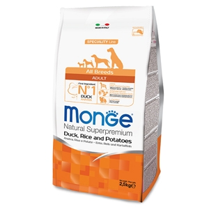 Monge -  All Breeds Adult Anatra, Riso e Patate