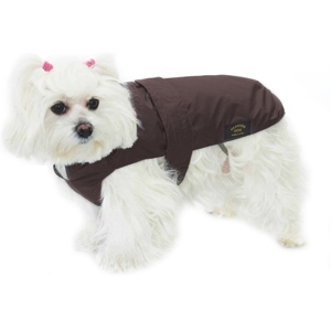 Cappotto Impermeabile con Imbottitura Staccabile Marrone - Fashion Dog