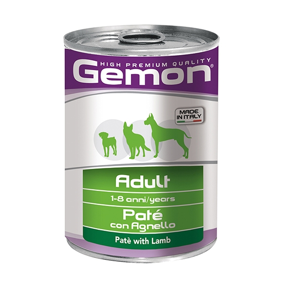 Adult Paté con Agnello - Gemon