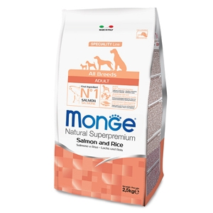 Natural Superpremium All Breeds Adult Salmone e Riso - Monge