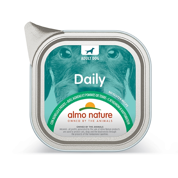 Almo Nature - Daily Menu con Agnello e Patate