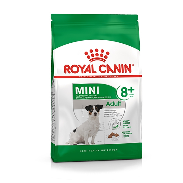 Mini Adult 8+ - Royal Canin