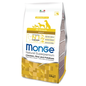 Natural Superpremium All Breeds Adult Pollo, Riso e Patate - Monge