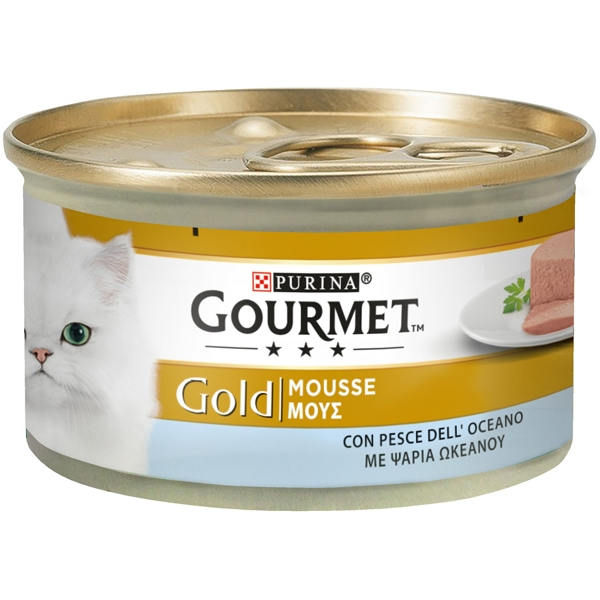 Gourmet Gold Mousse con Pesce dell'Oceano - Nestle' Purina