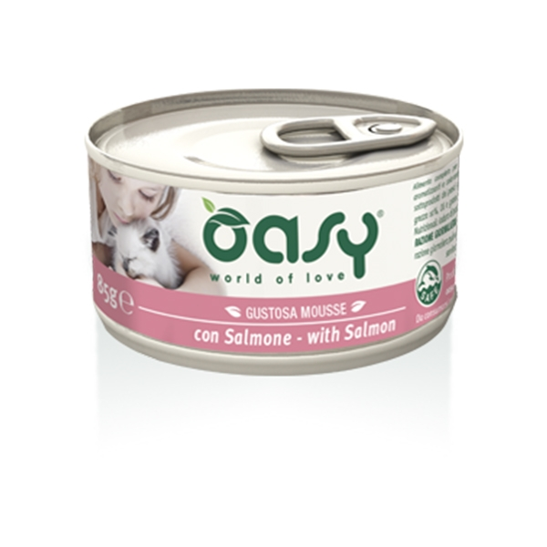 Gustosa Mousse con Salmone - Oasy