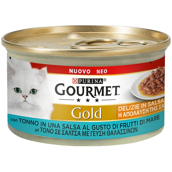 Gold Delizie con Tonno in Salsa - Nestle' Purina