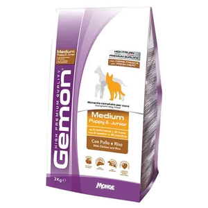 Gemon - Gemon Dog Medium Puppy & Junior con Pollo e Riso