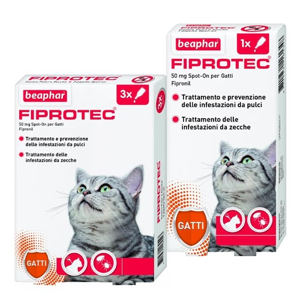 Fiprotec Spot-On Gatto - Beaphar