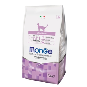 Monge - Natural Superpremium Sterilised Ricco di Pollo