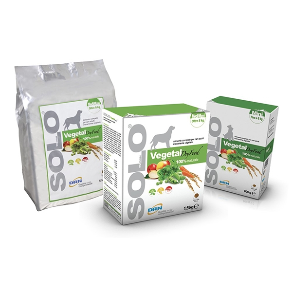 Solo Vegetal Dry Food - Drn