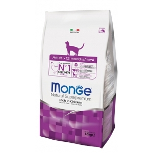 Monge - Natural Superpremium Adult Ricco di Pollo