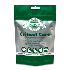 Oxbow Animal Health - Critical Care