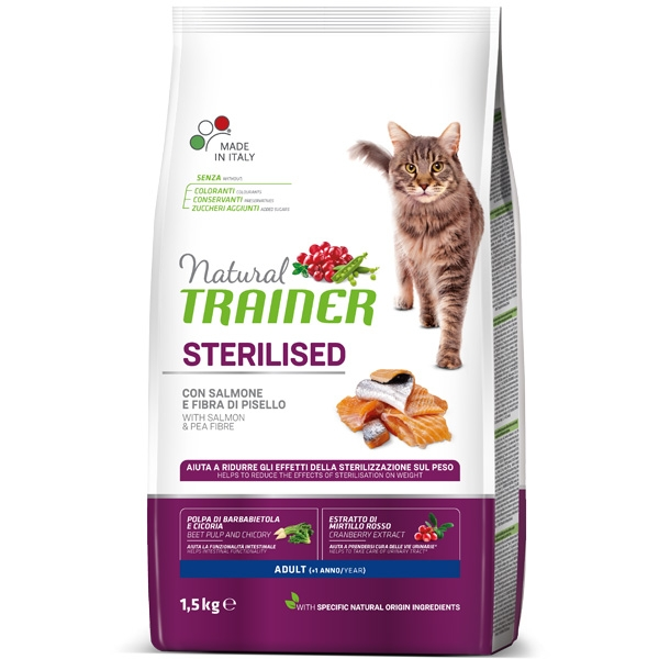 Trainer (Nova Foods) - Natural Adult Sterilised con Salmone
